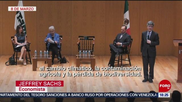 Foto: Estamos en medio de una crisis medioambiental: Jeffrey Sachs