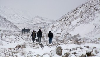 Foto Cadáveres Everest Deshielo 22 Marzo 2019