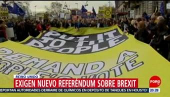 FOTO:Exigen nuevo referéndum sobre Brexit, 23 Marzo 2019
