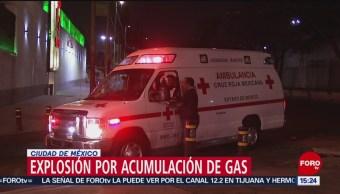 FOTO: Explosión por acumulación de gas moviliza equipos de emergencia en GAM, 2 marzo 2019
