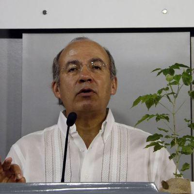 Felipe Calderón dice que conquista de México es tema 'zanjado hace tiempo'