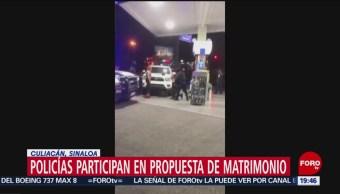 Foto: Finge Detención Matrimonio Policías De Culiacán 19 Marzo 2019