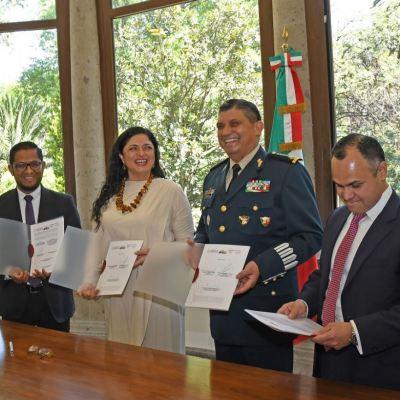 Presidencia entrega formalmente Los Pinos a la Secretaría de Cultura