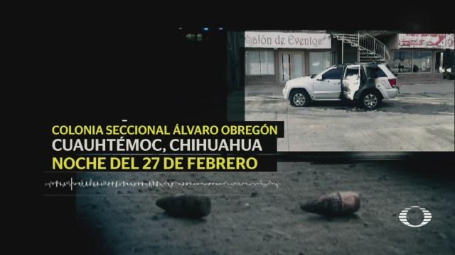 Foto: Chihuahua Enfrentamiento Grupos Criminales 1 de Marzo 2019