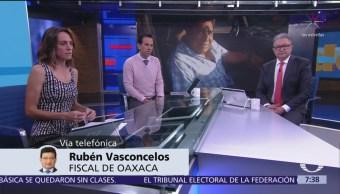 Fiscalía de Oaxaca ya investiga agresión de periodista, confirma Rubén Vasconcelos