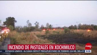 FOTO: Flamazo en la Tabacalera e incendio en Xochimilco
