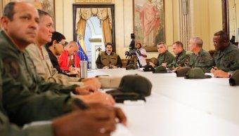 Foto: El presidente Nicolás Maduro anuncia que militares venezolanos protegerán los servicios básicos en el país. El 15 de marzo de 2019