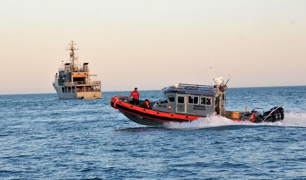 Foto: Autoridades federales realizan operativos en el alto Golfo de California para proteger a la vaquita marina, el 29 de marzo de 2016