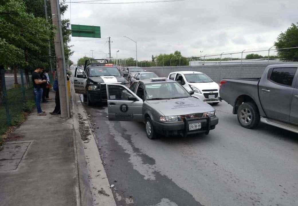 Foto: Cuatro sujetos robaron 900 mil pesos a un guardia de valores en Monterrey, Nuevo León. El 28 de marzo de 2019