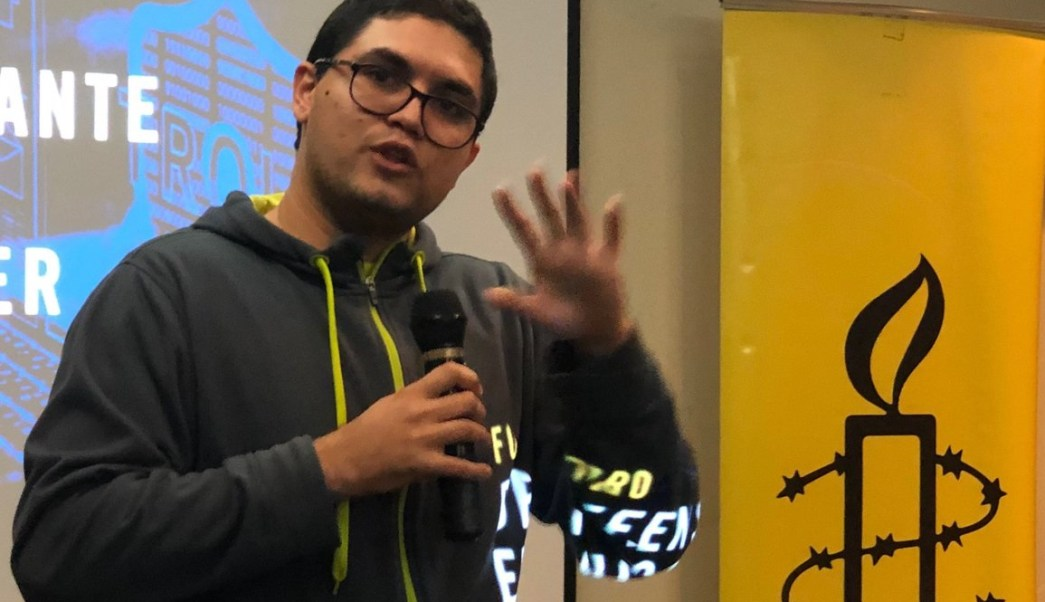 Foto: Periodista venezolano Luis Carlos Díaz