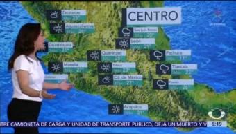 Frente frío 44 provocará lluvias con actividad eléctrica en México
