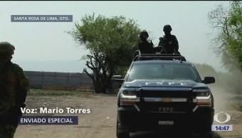Foto: Fuerzas Armadas realizan operativos contra Cártel Santa Rosa de Lima
