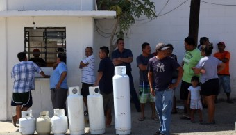 Foto: El cierre de gaseras en Acapulco ha causado inconformidad entre consumidores, marzo 16 de 2019 (Cuartoscuro)