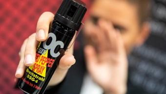 morena propone legalizar uso de gas pimienta para defensa de mujeres