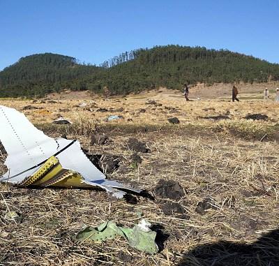 Recuperan caja negra del avión de Ethiopian Airlines en que murieron 157 personas