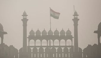 foto Nueva Delhi, capital de India contaminacion 7 noviembre