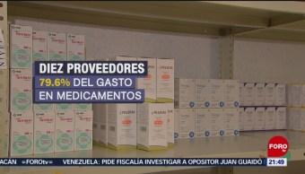 Foto: Gobierno Compras Medicamentos Pasada Administración 12 de Marzo 2019
