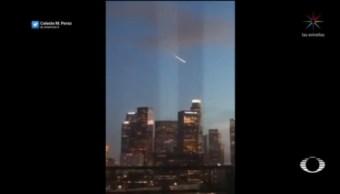 Foto: Los Ángeles Video Meteorito 21 de Marzo 2019