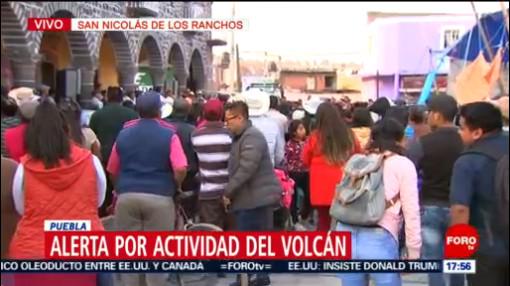 Foto: Reuniones Informativas Actividad Popocatépetl 29 de Marzo 2019