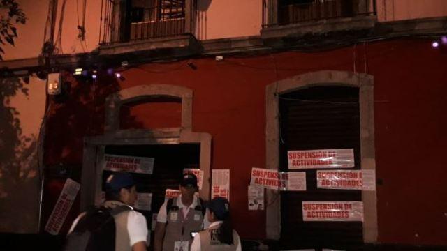 Foto: Clausuran bares durante operativo contra 'chelerias' en zona centro CDMX, 1 marzo 2019