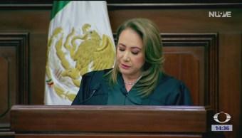 Foto: Investidura de la ministra Yasmín Esquivel en la SCJN