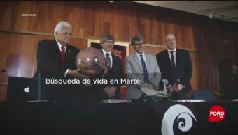 FOTO: Investigador de la UNAM trabajó con la NASA para buscar vida en Marte, 31 Marzo 2019
