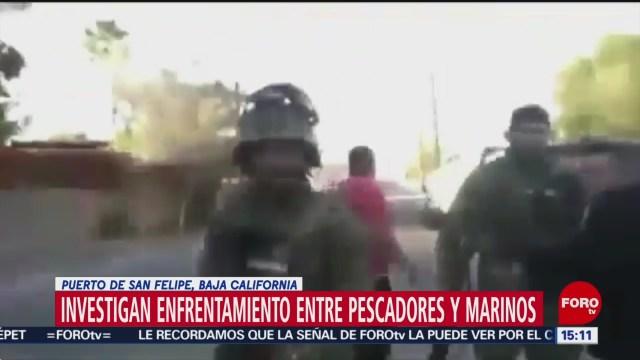 Foto: Investigan Enfrentamiento Pescadores Marinos Baja California 29 de Marzo 2019