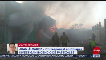 Foto: Investigan incendio de pastizales en Tuxtla Gutiérrez, Chiapas