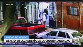 Joven enfrenta a delincuentes en la colonia Anáhuac, CDMX