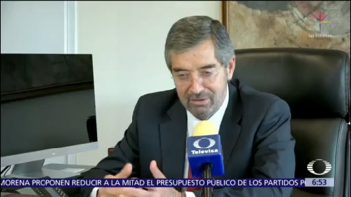 Juan Ramón de la Fuente asume como embajador ante ONU