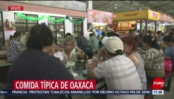 FOTO: La comida típica del estado de Oaxaca, 16 marzo 2019