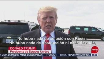 FOTO: La investigación sobre Rusia fue una vergüenza: Trump, 24 Marzo 2019