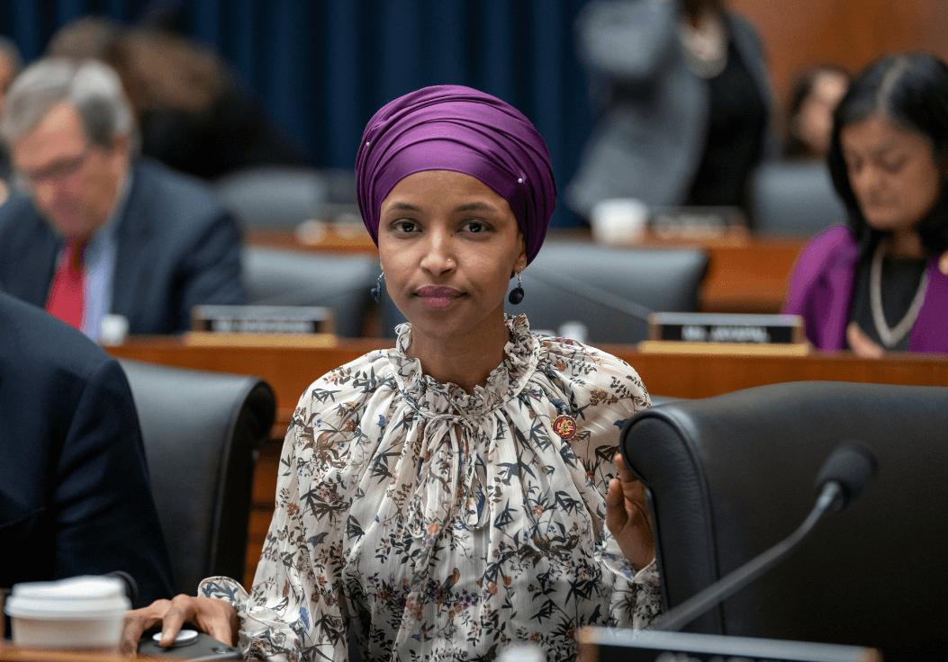 Foto: Ilhan Omar, legisladora musulmana del Congreso de Estados Unidos, 6 de marzo de 2019