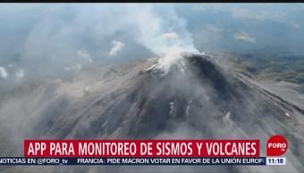 Lanza UNAM app para monitorear sismos y volcanes