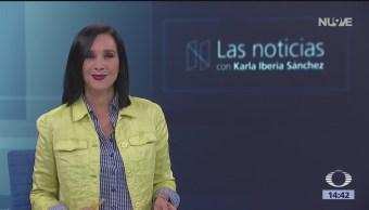 Foto: Las Noticias, con Karla Iberia: Programa del 15 de marzo del 2019