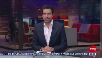 Foto: Las Noticias de las 20:00 horas, con Danielle Dithurbide: Programa del 29 de marzo de 2019