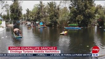 FOTO:Las trajineras y su origen en Xochimilco, 23 Marzo 2019