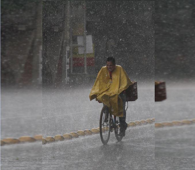 Foto: Se registra tarde lluviosa con intervalos de chubascos, 9 marzo 2019