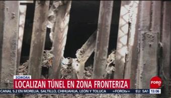 FOTO:Localizan túnel en zona fronteriza en Sonora, 24 Marzo 2019
