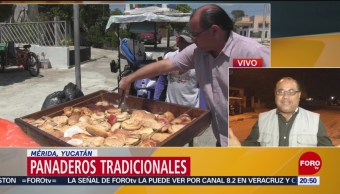 FOTO:Los tradicionales panaderos en triciclo en Yucatán, 23 Marzo 2019