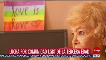 Foto: Lucha Comunidad LGBT Tercera Edad 21 de Marzo 2019