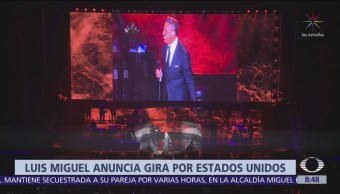 Luis Miguel anuncia gira por Estados Unidos