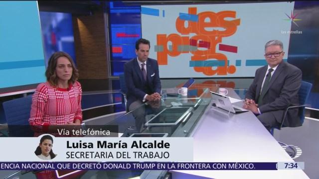 Luisa María Alcalde garantiza transparencia en programa de becas para jóvenes