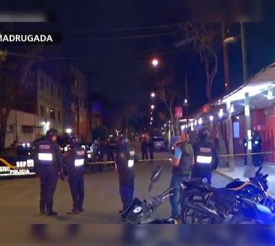 Madrugada violenta en la CDMX deja cuatro ejecutados