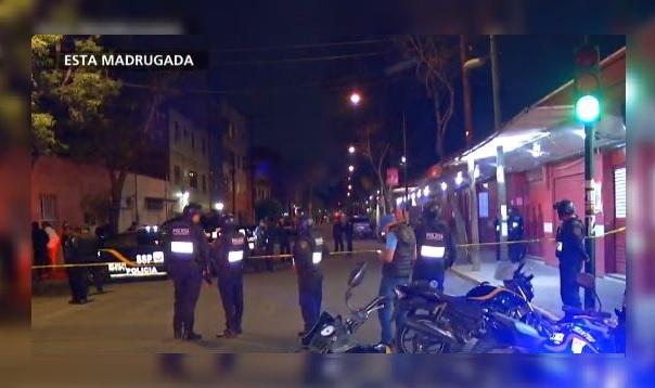Madrugada violenta en la CDMX deja cuatro ejecutados, 15 marzo 2019