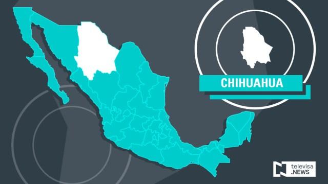 IMAGEN Asesinan a jefe de Inteligencia de Ciudad Juárez mapa de Chihuahua Noticieros Televisa 2016