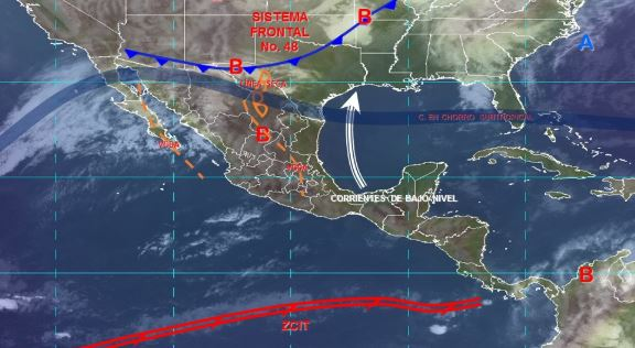 Foto: Imagen de fenómenos meteorológicos significativos del 30 de marzo a las 06:00 horas