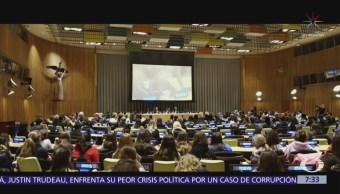 'Mar de Sombras' fue presentado ante la ONU