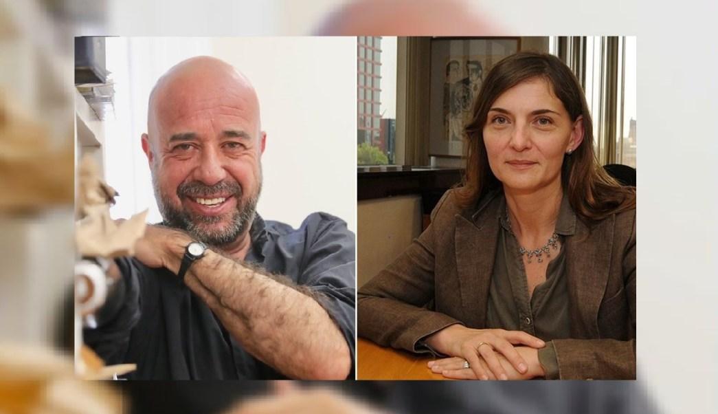Foto: Mario Bellatin (i) deja el Fonca tras escándalo; lo sustituye Marina Núñez Bespalova (d), 13 marzo 2019