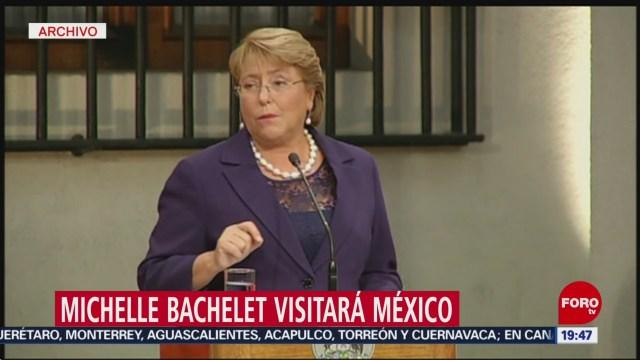 Foto: Michelle Bachelet visitará México